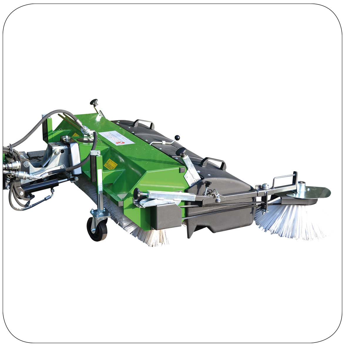 Kersten FKDR 37 Hydraulic Front Sweepers for Ride-on Mowers