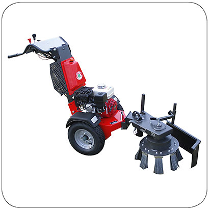 Kersten two wheel tractors Power Unit with Weedbrush WKB-H