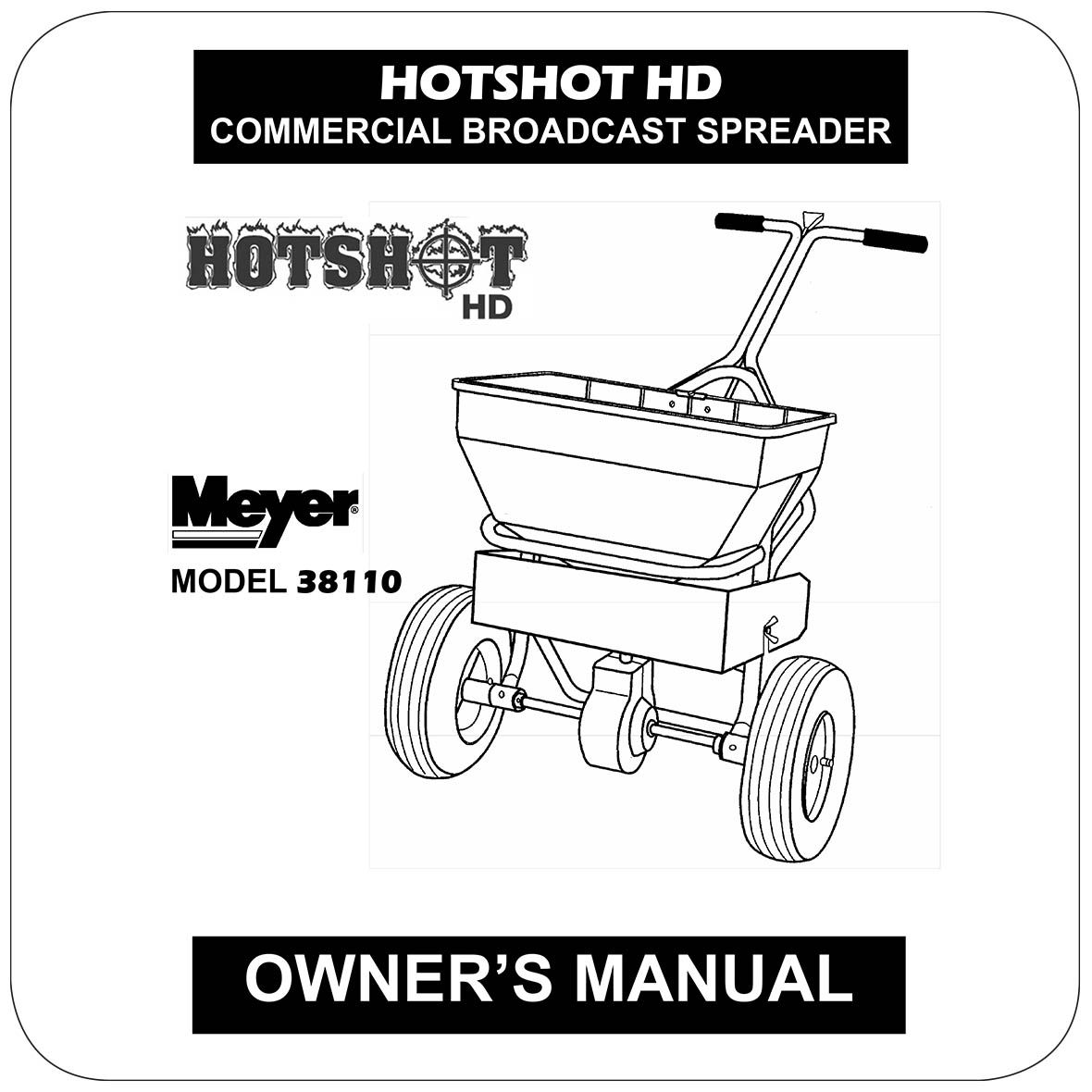 Owners Manual HotShot 70HD - 38110