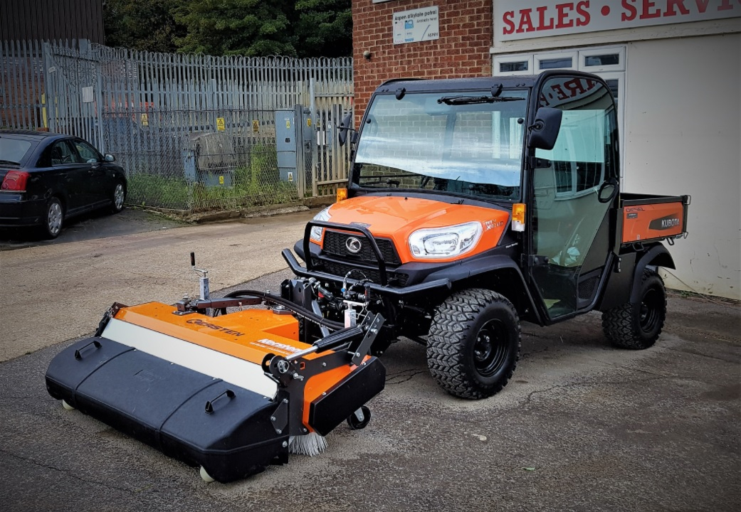 Case Study: Hydraulic sweeper for Kubota RTV - Cover Image
