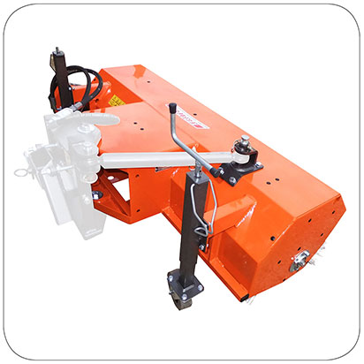 Front Mounted Sweeper for Tractor and Mower - KM 45 series