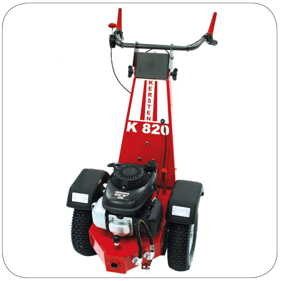 Kersten K 820 - Hydraulic 2 Wheel Tractor with Sweeper