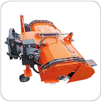 Kersten Front Mounted Sweeper for Tractors & Loaders - FKM 60L series