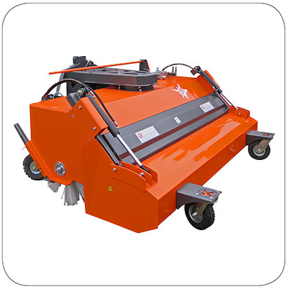 Kersten Front Mounted Sweepers for Tractors & Loaders - KM 70 series