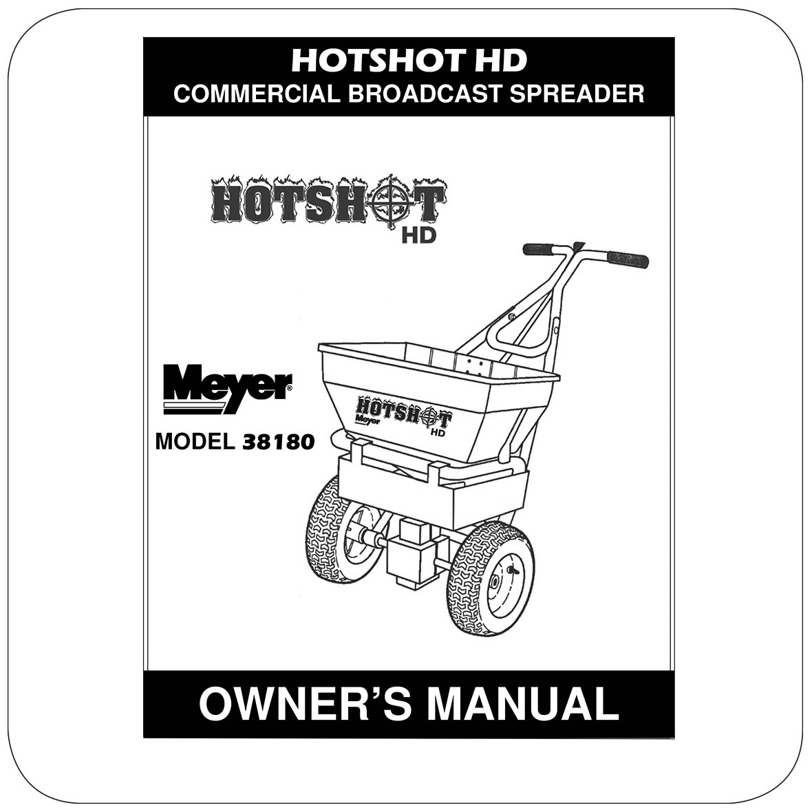 Owners Manual HotShot 70HD - 38180