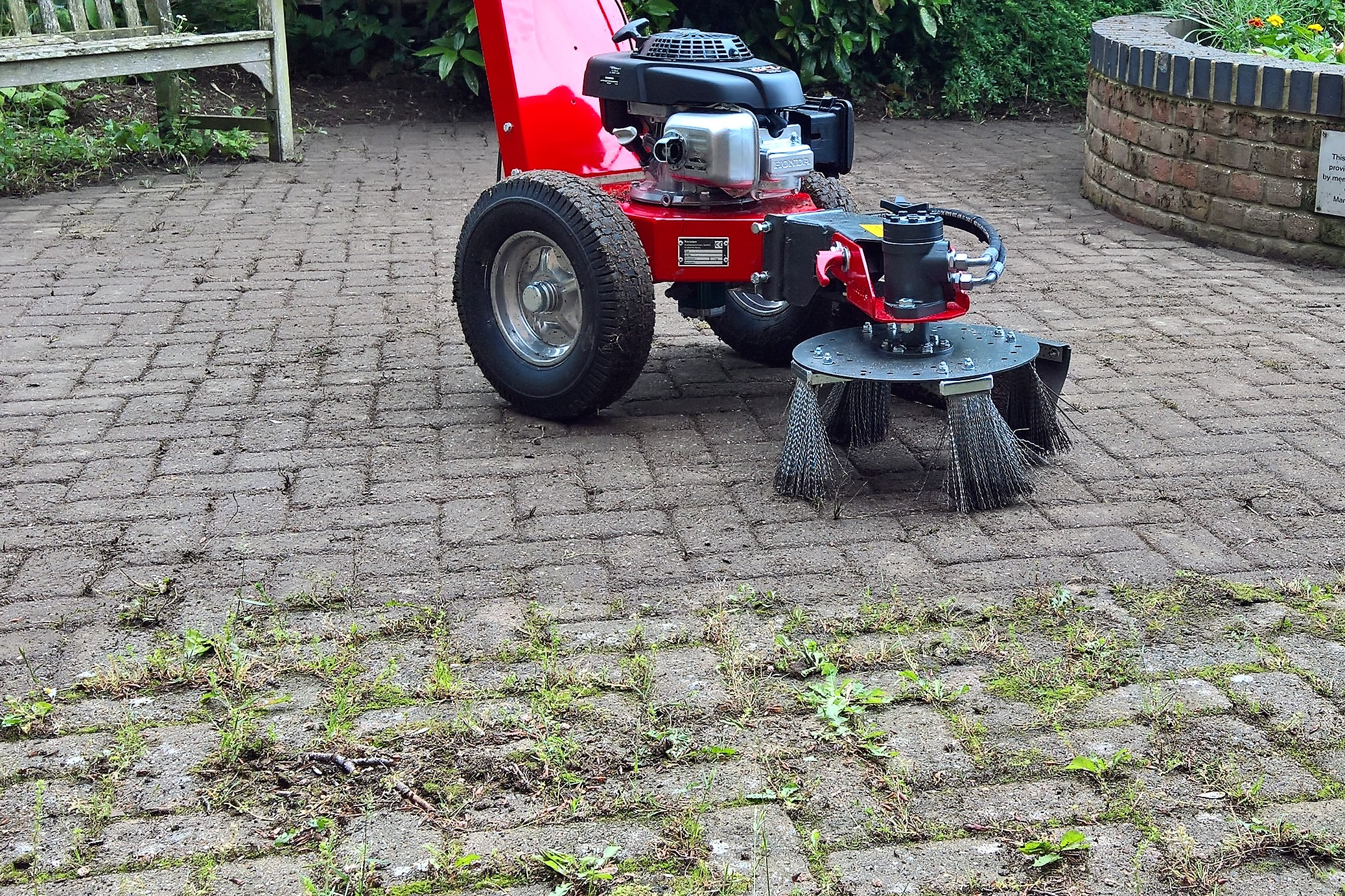 Our latest happy customer just getting used to his new Weedo! - Cover Image